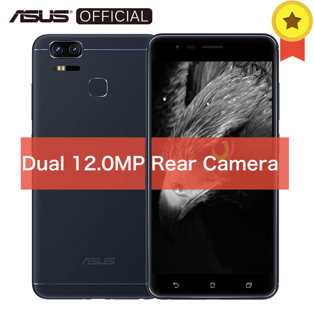 Глобальная версия Asus Zenfone 3 зум ZE553KL Snapdragon625 4 ГБ 64 ГБ 5,5 дюйма AMLOED FHD 5000 мАч Android 6,0 Dual 12MP телефон оты
