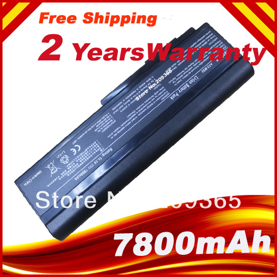 7800mAH Laptop Battery for Asus N53 N53TA A32-M50 M50s N53S N53SV A32-N61 A32-X64 A33-M50