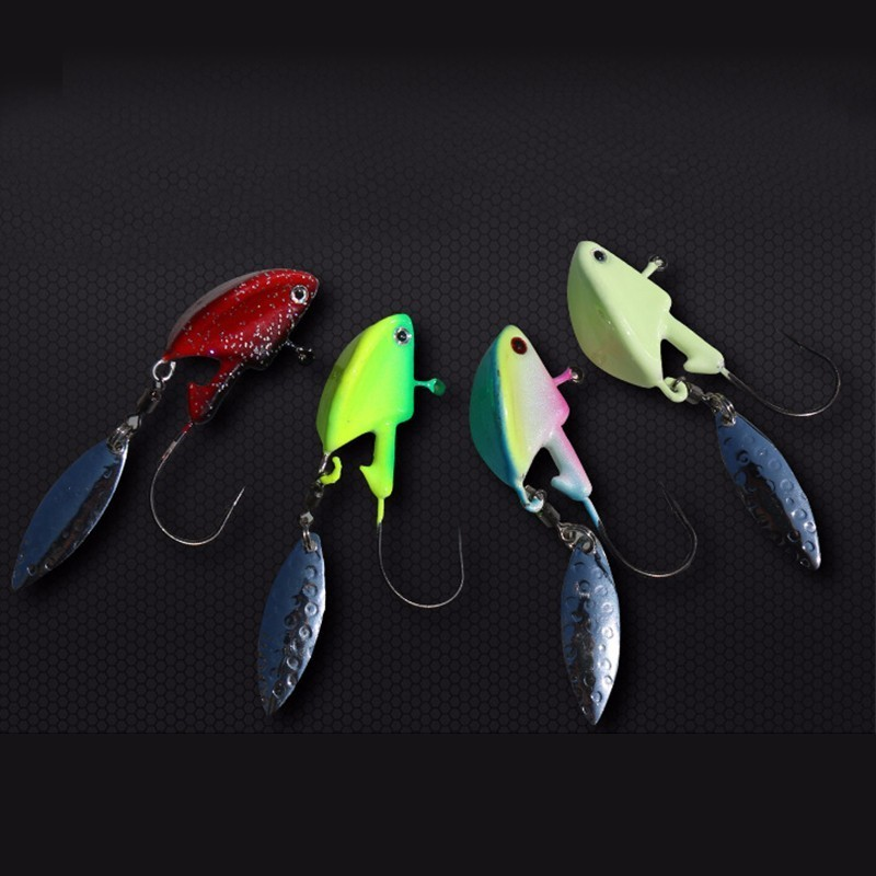 10x Noctilucent Squid Lure Hook Cuttlefish Saltwater Fishing Lure Hard Baits