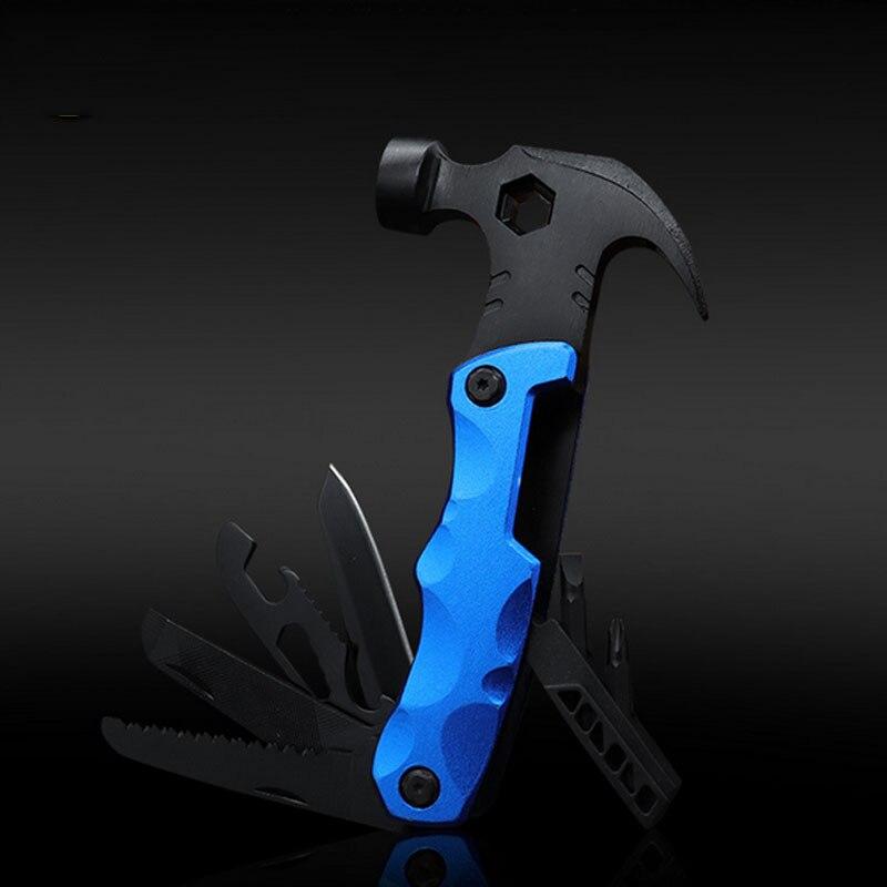 Короткий Молоток нож Отвертка коготь молоток ручной инструмент многофункциональный молоток безопасности комбинированные плоскогубцы без