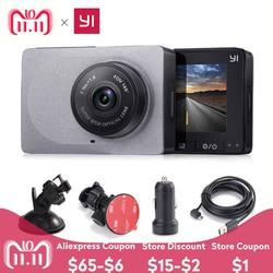 [Международное издание] YI Smart Car DVR 165 градусов 1080P 60fps автомобильный детектор 2,7 Dash Camera ADAS Safe Reminder Dashcam