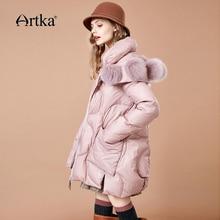 Collar Fur Warm Down