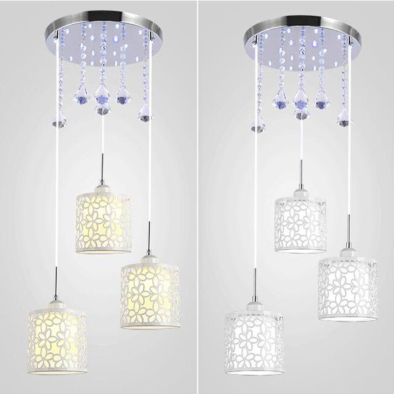 Modern Crystal Dining Room Pendant light New Brand Corridor Hallway Pendant Lamp Creative Balcony Hollow Out Hanging Lamps classic chinese style wooden pendant lamp vintage dining room pendant light tea house hallway balcony hanging lamps