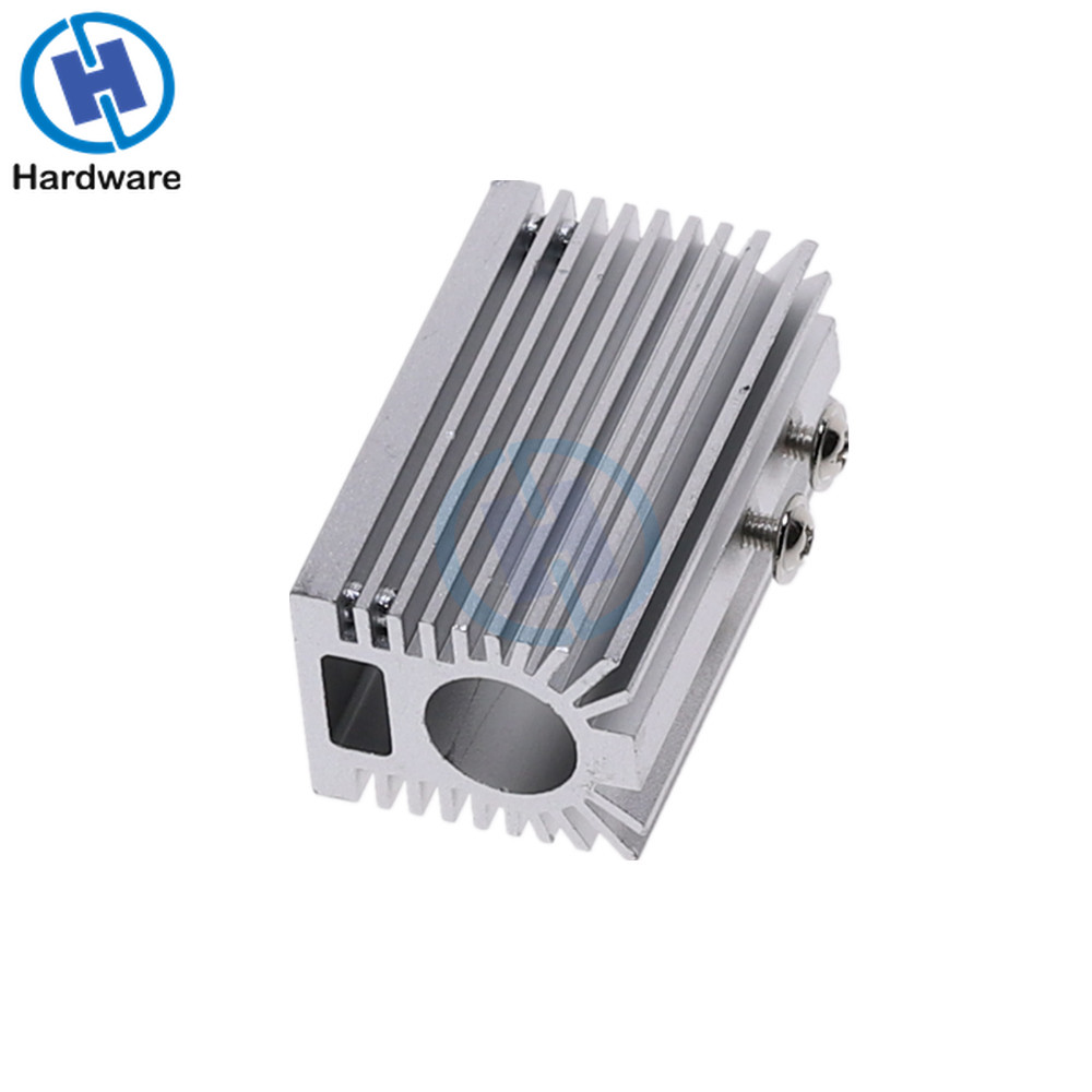 Laser Module Radiator Heat Sink Aluminum Cooling Housing Heatsink Holder Mount Part For 12mm Laser Module