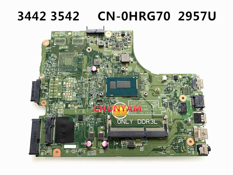KEFU Mainboard 13269-1 PWB.FX3MC Inspiron 3543 Dell 3542 Laptop FOR 15-3442/3542/3443/..