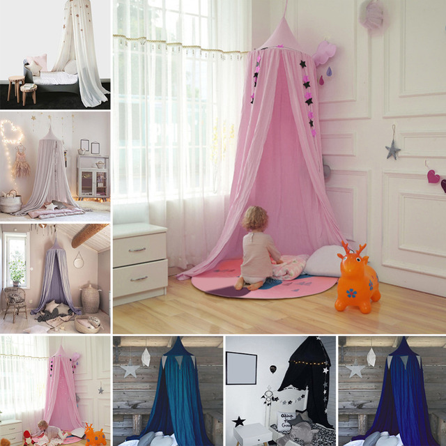 Baby Bed Canopy Tent Reading Play Tents Canopy 100% Fine Cotton Dome Children Room Bed & Baby Bed Canopy Tent Reading Play Tents Canopy 100% Fine Cotton Dome ...