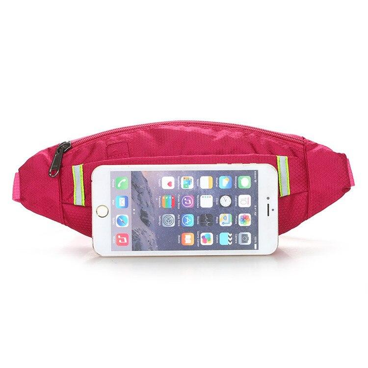 Hacmpoehue 2019 New Women Bag Fanny Pack For Women Men Waist Bag Colorful Unisex Waist Bag Belt Bag Zipper Pouch Packs For Men