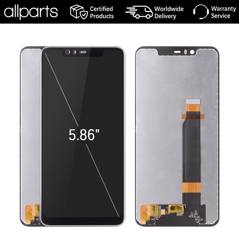 5.8 Original Display For NOKIA X5 LCD Touch Screen Digitizer Replacement for NOKIA 5.1 Plus Display 2018