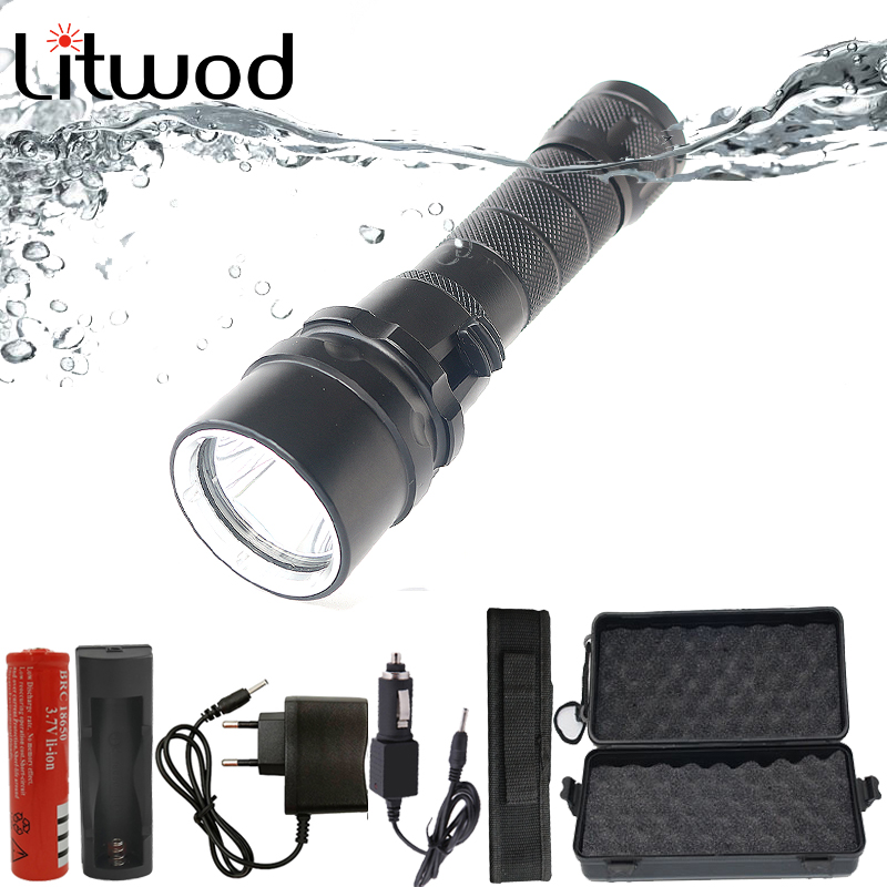 Z20 D52 XM-L L2 5000Lm LED Diving Flashlight Torch Waterproof Dive Underwater 120M Lamp Light Lanterna Swimming light gift box 9000 lumens underwater diving flashlight 9 x cree l2 led waterproof light xm l2 dive torch lanterna