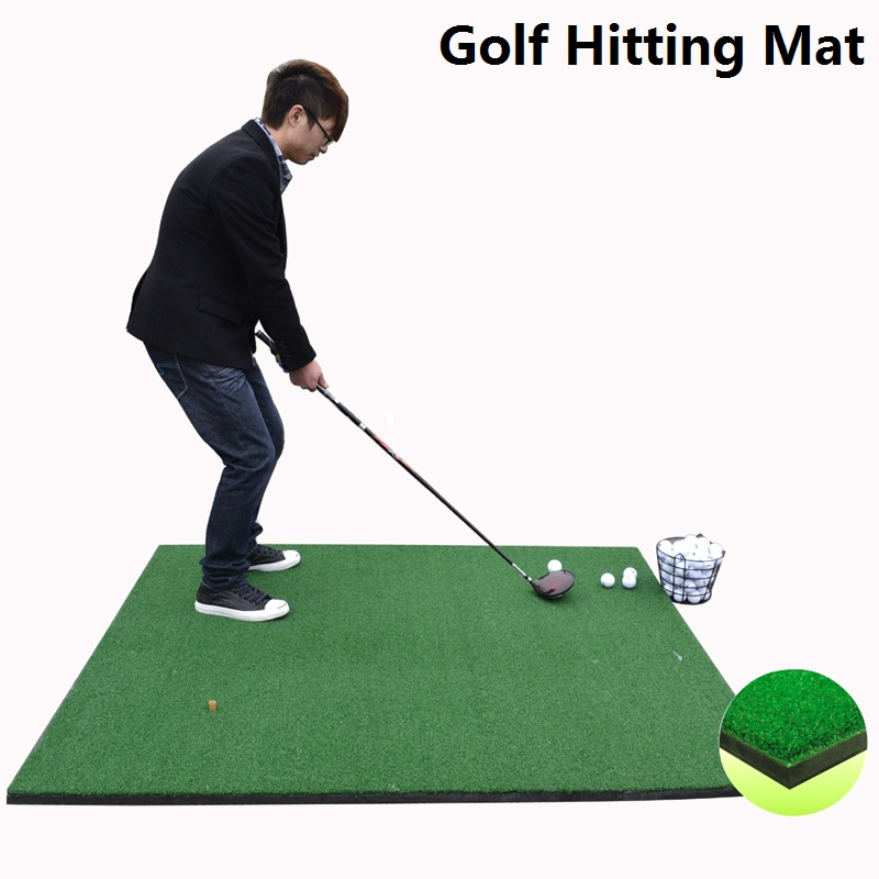 Golf Hitting Mat Artificial Grass Good For Putting And Hitting Training Astroturf Mat Golf Training Mat