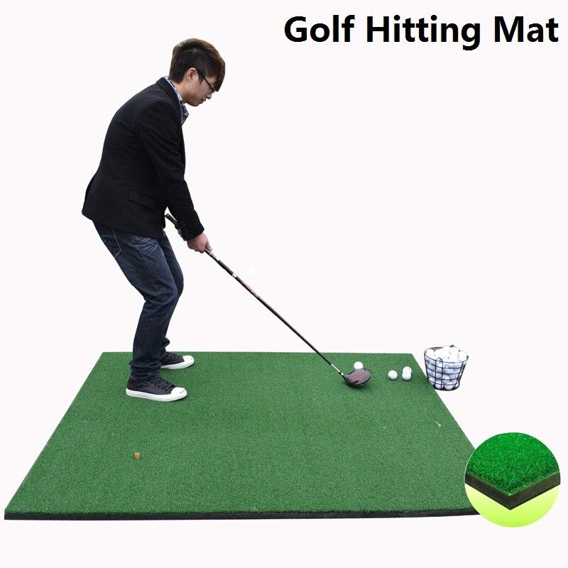 Spor ve Eğlence'ten Golf Eğitim Yardımcıları'de Golf Isabet Mat Suni Çim için Iyi koyarak ve isabet eğitim Astroturf Mat Golf eğitim mat