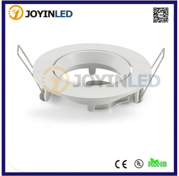 Aluminum Down Light Frame for GU10 and MR16 LED Spot Design of Light Aluminum Frame House