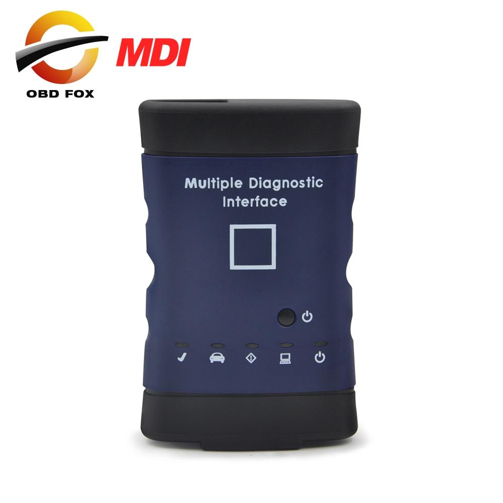 Prix pour 2016.3 logiciel Pour G-M MDI avec tech2 gagner GDS2 logiciel auto outil de diagnostic Multiple Diagnostic Interface OBD2 Scanner