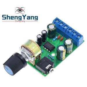 Image 3 - ShengYang Mini DC 3.7 ~ 12V 5V TDA2822M 2.0 CH Stereo Âm Thanh Bộ Khuếch Đại Công Suất Tàu 3.5Mm AUX