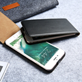 New Luxury Elegant Retro Genuine Real Leather Case for iPhone 6 5 7 Cover Vintage Flip for iPhone 6 6S 7 Plus Custom Case Capa