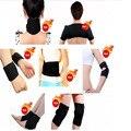Turmalina auto-aquecimento cinto de suporte da cintura joelheira pescoço ombro pad conjunto Terapia Magnética do tornozelo apoio cotovelo 7 em 1 11 pcs