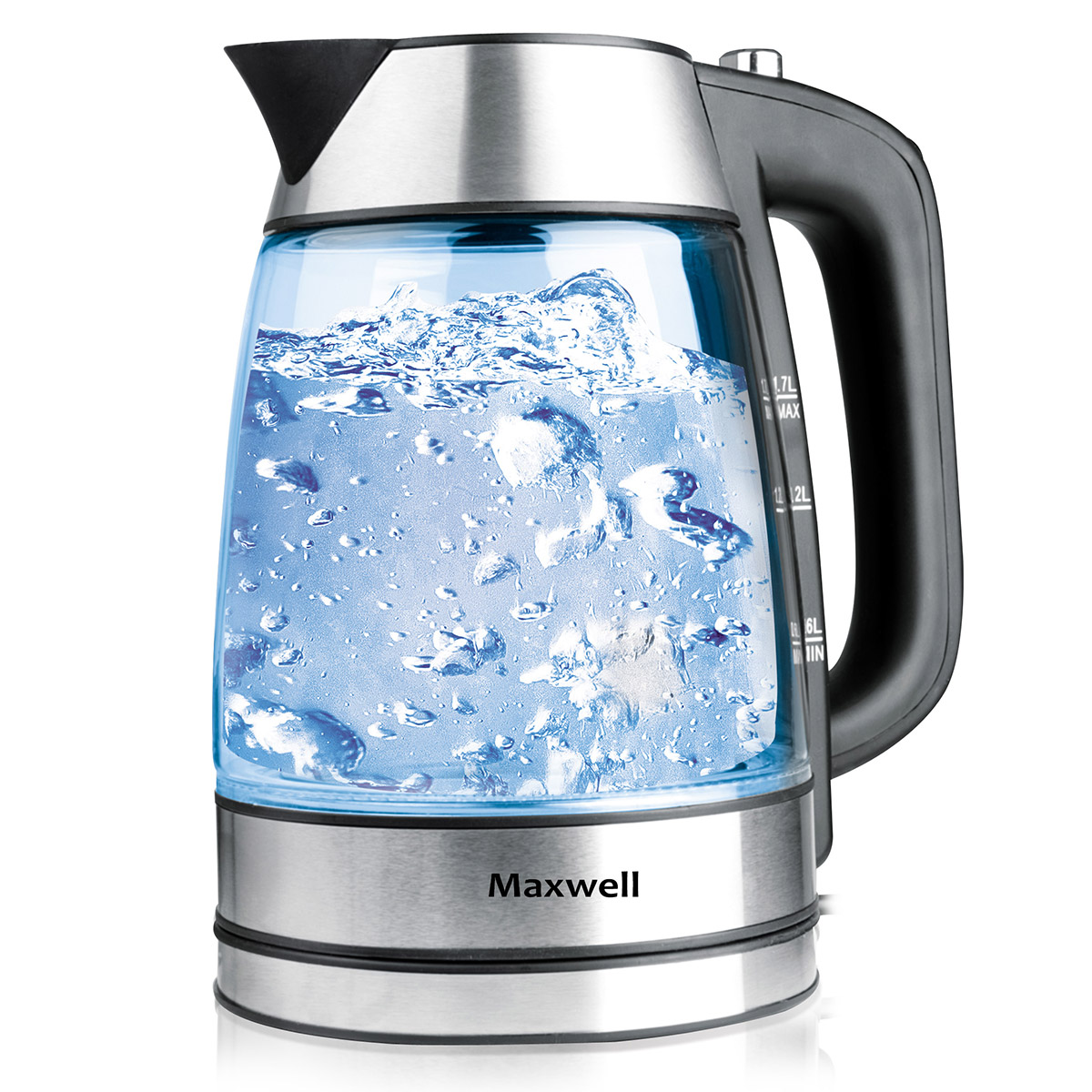 Electric kettle MAXWELL MW-1053(ST) automatic water electric kettle teapot intelligent induction tea furnace