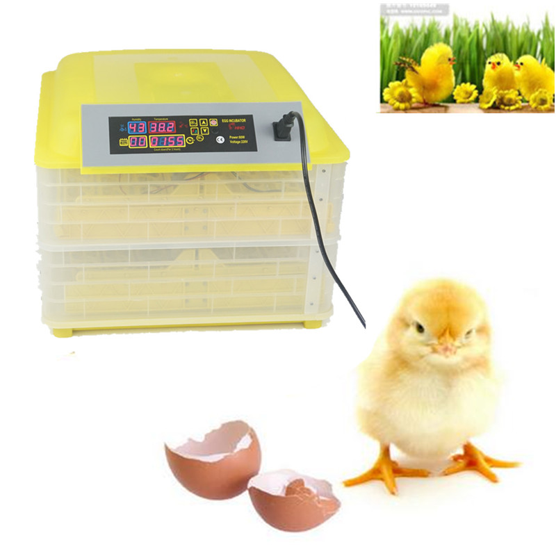 96 Eggs Incubator Digital Temperature Control Automatic