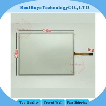 260*200mm 4wires 5wires t 4wires 5wires Resistance Touch Digitizer Glass Outside Panel for Vehicle DVD Navigation Tablet MID GPS