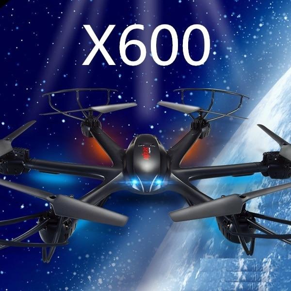 Ewellsold X600 2.4G RC helicóptero hexa RC drone con/sin cámara FPV HD vs x5c C4