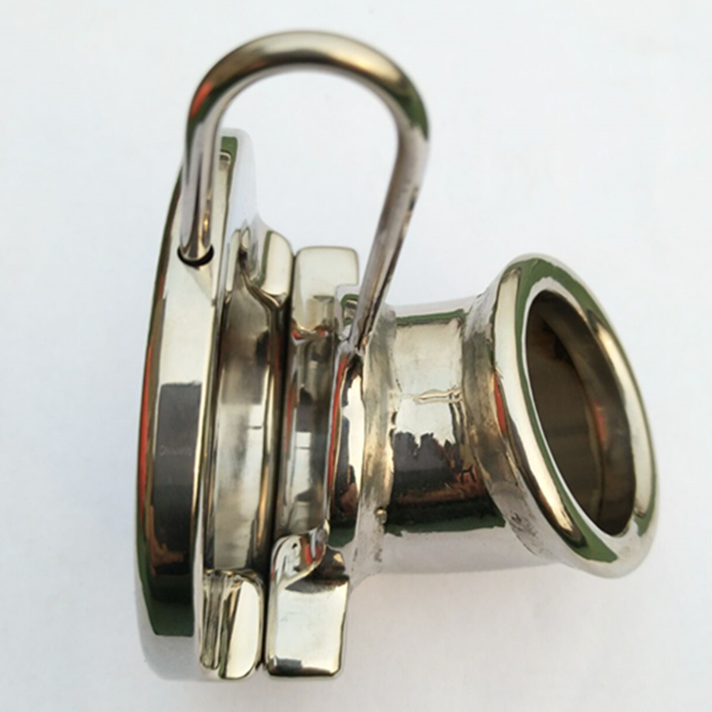 Stainless Steel Front End Open Type Chastity Cage Penis Sleeve Casing Ring Chastity Devices Cock Rings