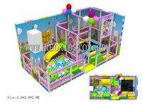 Детский Крытый мягкий игровой набор CE сертифицированный детский Крытый Детские площадки hz 5825b