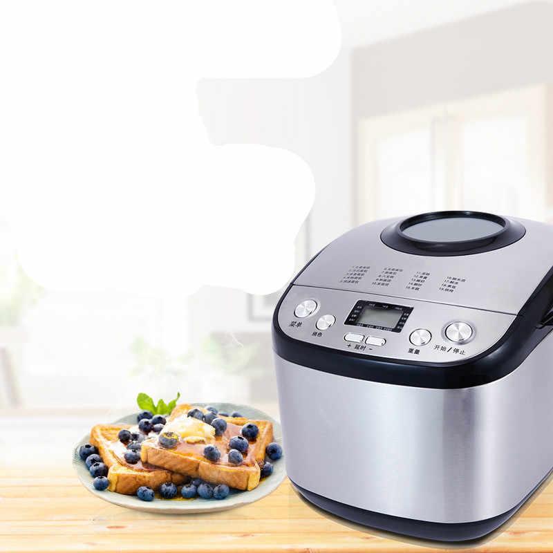 Máquina de pão Da máquina de fazer pão USA totalmente automático multi-função de bolo de aço inoxidável inteligente para cuspir para o motorista.