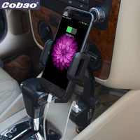 Cobao Car Mount Charger 5V 3A Universal 360 Adjustable Cellphone Car Holder Charger For Xiaomi Huawei