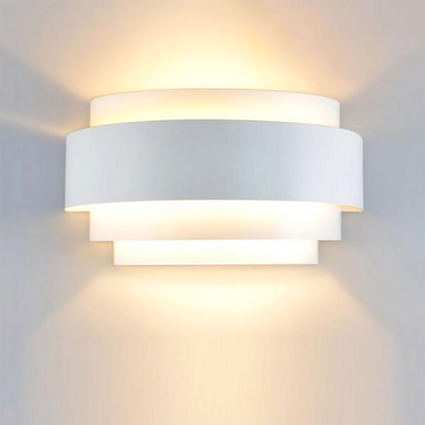 ФОТО Fashion modern Iron led wall light Creative shape wall lamp lights for home Decoration Living room Bedroom without lamp
