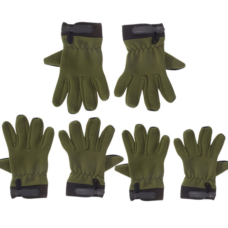 Cycling Gloves Full Finger Anti-shock For Bike Bicycle Airsoft Antiskid MTB Long Finger Gloves For Men Racing Riding Hunting
