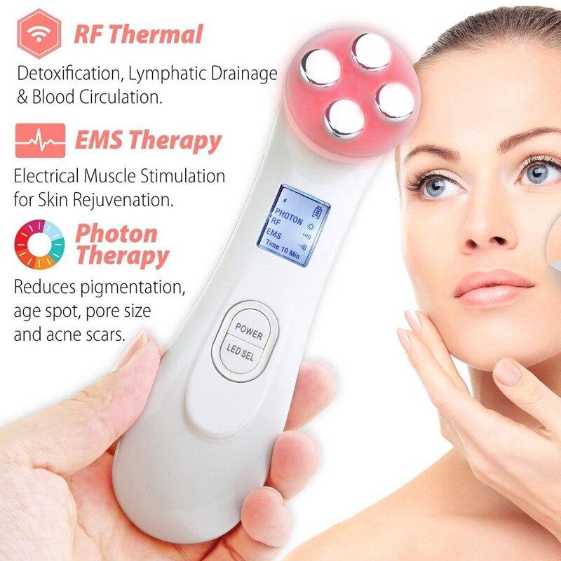 de Rádio Freqüência Mesoterapia Facial Terapia Fóton Levou