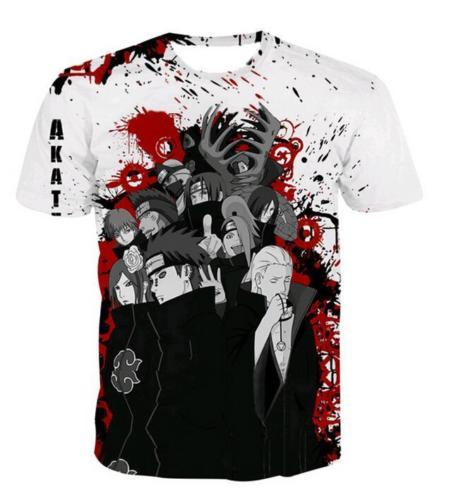 Naruto's AKATSUKI all-over-print shirt