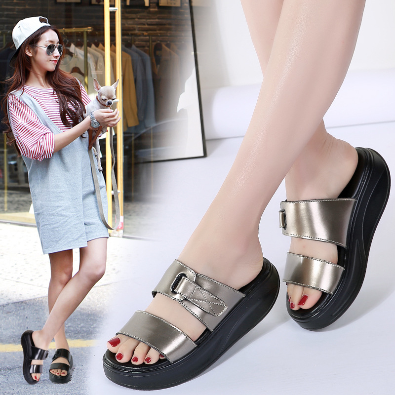 3024G Kid sandals summer casual new sandals womens leather increased sandals ladies cross-border3024G Kid sandals summer casual new sandals womens leather increased sandals ladies cross-border