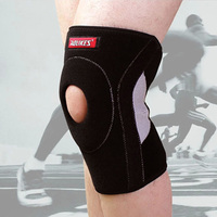 1 Piece Basketball Running Knee Support Breathable Adjustable Damping Knee Guard Outdoor Sports Mountaineering Riding Knee
