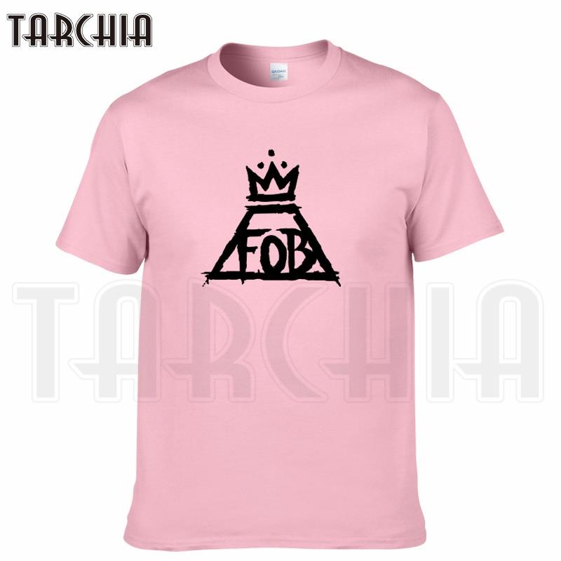 TARCHIA 2018 new brand fob music summer t-shirt cotton tops tees men short sleeve boy casual homme tshirt t shirt plus fashion