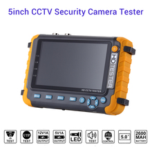 ahd cctv tester Security Camera Tester With 5 Inch TFT LCD Monitor For 4 IN1 TVI CVI Analog Cam hdmi