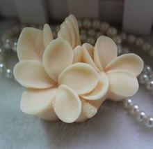 Силиконовые формы мыло Ручной Работы плесень пищевых формы красивая яйцо цветы С листьями форма плесень