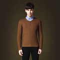 Chicken Spring 2016 Mens Accessories Sweater Pure Color Man Tom V-neck Sweater V neck In Men Sweaters Mens Cashmere Sweater
