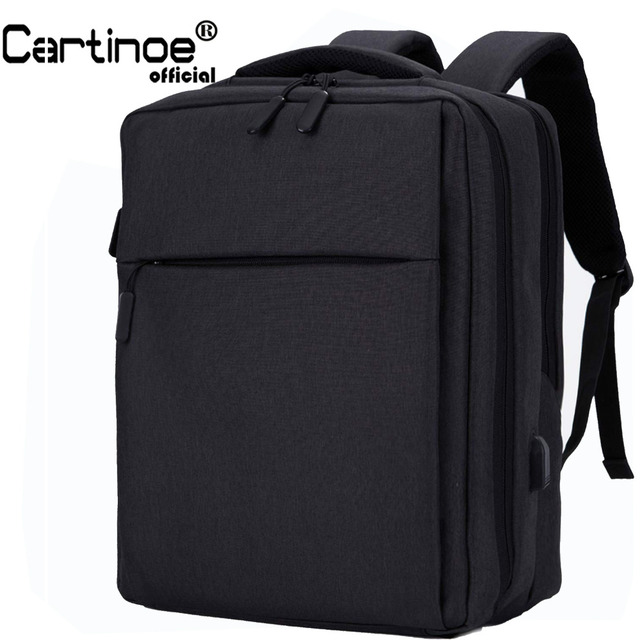 Cartinoe USB Charging 17.3 / 15.6 inch Laptop Backpack Anti Theft Backpack Men Travel Bag Male Mochila bag for Xiaomi pro 15