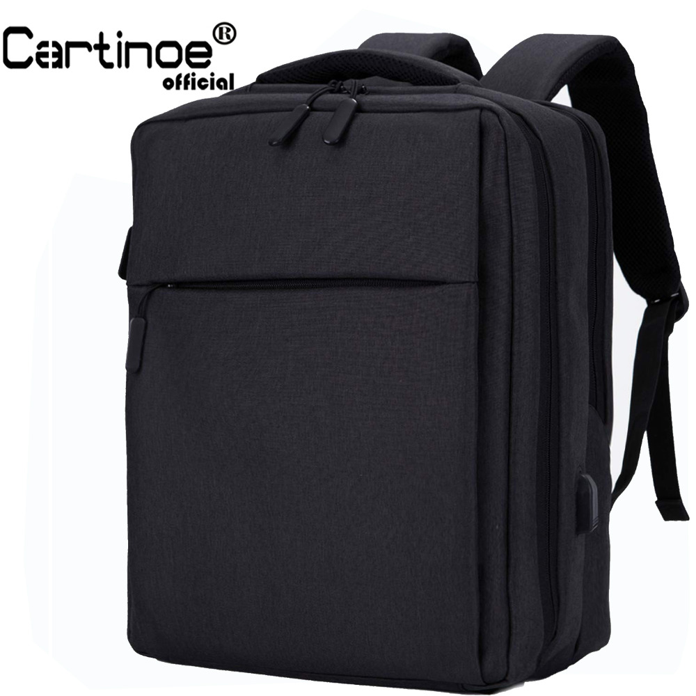 Cartinoe USB Charging 17.3 / 15.6 inch Laptop Backpack Anti Theft Backpack Men Travel Bag Male Mochila bag for Xiaomi pro 15