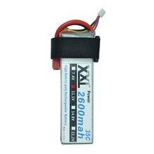 2pcs XXL RC Power Lipo Battery  2600Mah 11.1V 3s  35c for TREX 450 CX20 Helicopter RC Airplanes Cars