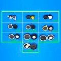 Altifalante Do Telefone do telefone móvel Rodada 13 16 18 20 23 26 28mm Ringer/speaker/anel