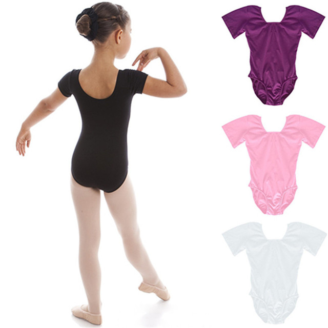 b9fbbbf61 Young Kids Girls Tank Dance Wear Stretch Gymnastics Ballet Dance ...