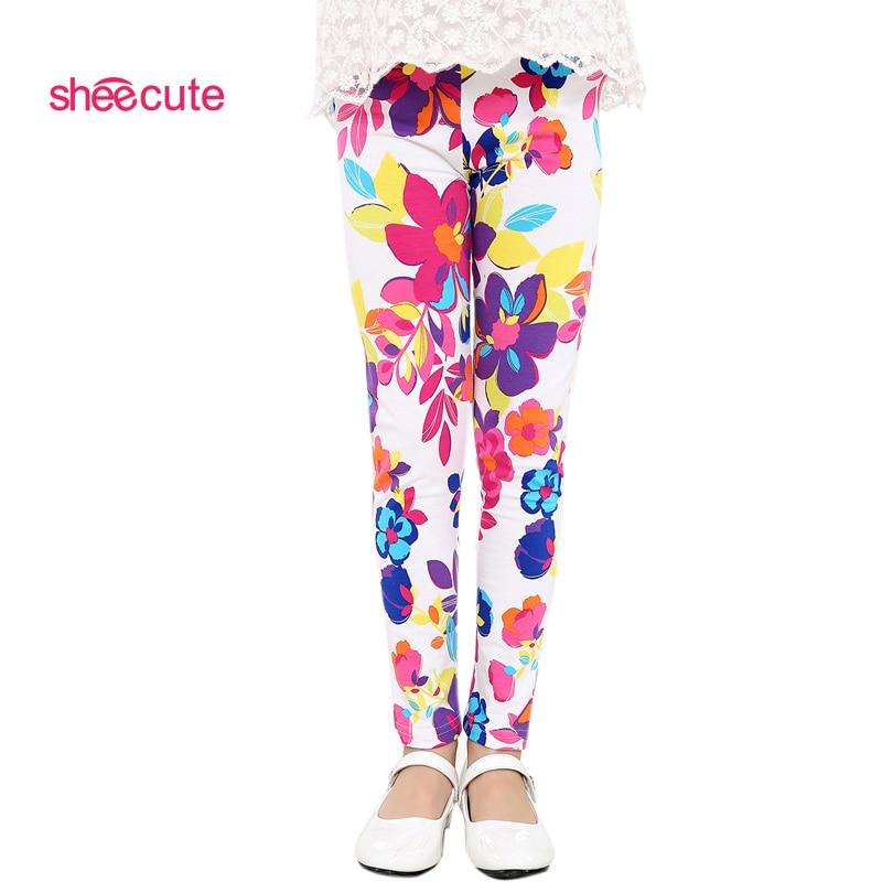 Baby-Kids-Childrens-printing-Flower-Toddler-Classic-Leggings-girls-pants-Girls-legging-2-14Ybaby-girl-leggings-1