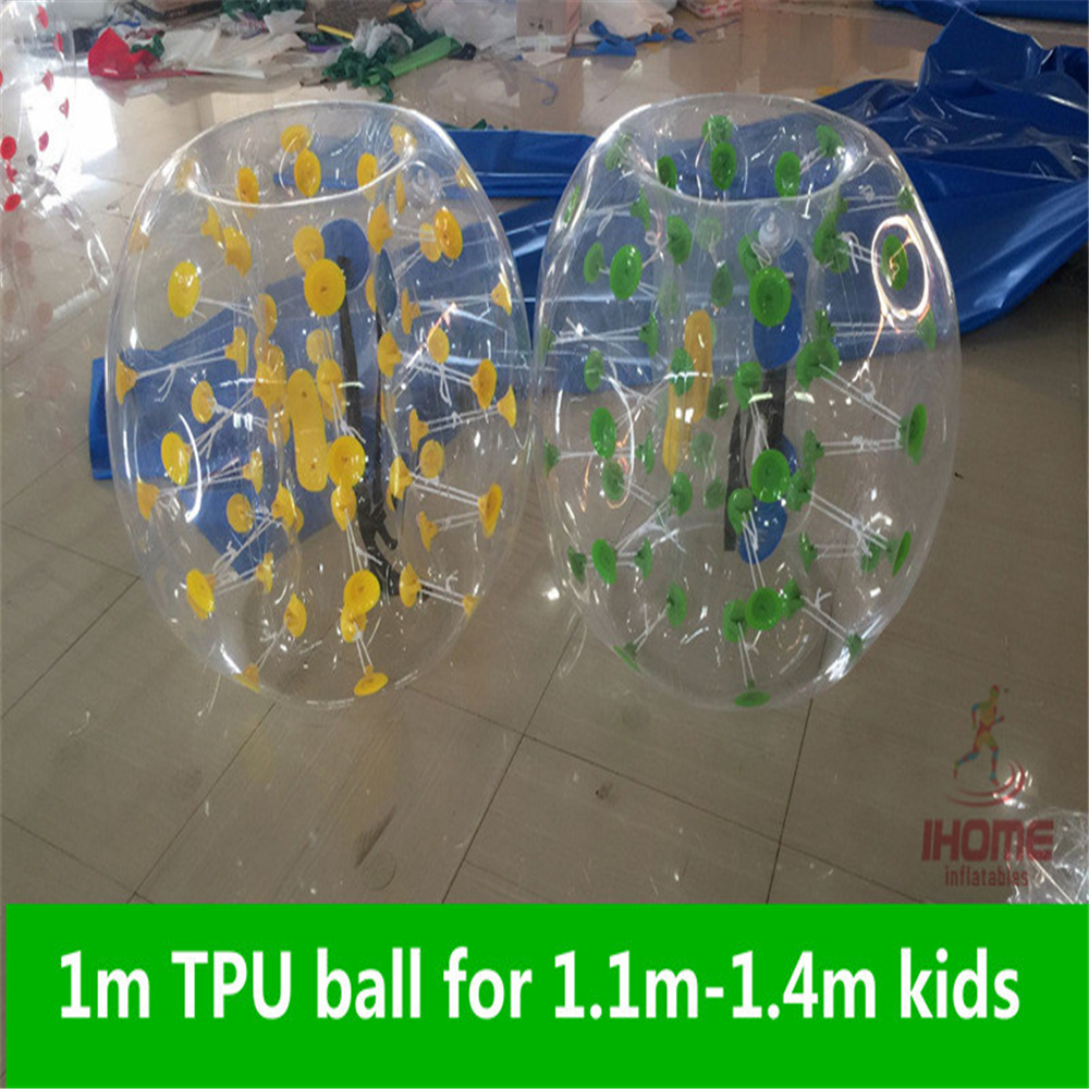 1m TPU Inflatable Body Zorb Ball Bumper Ball Loopy Ball Bubble Soccer Bubble font b Football