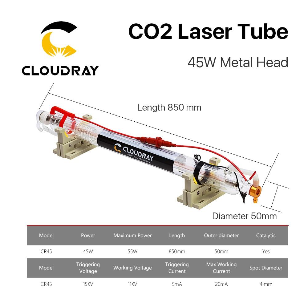 Tubo di vetro 850MM della testa del metallo del laser di CO2 di - Parti di macchine per la lavorazione del legno - Fotografia 6