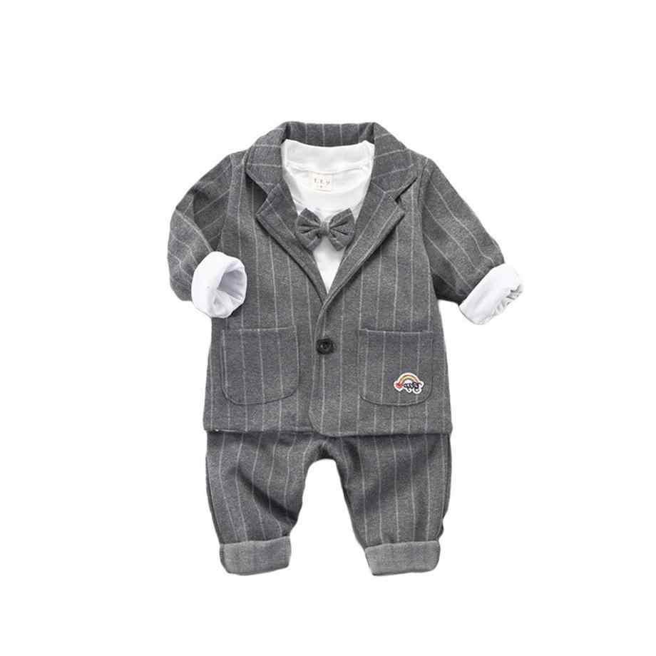 1c2af3f2dcc8 ... Del bambino vestiti dei ragazzi 2019 primavera tre pezzi per bambini  outfits 1 2 3 anni
