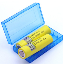 Liitokala la nuova batteria ricaricabile li lon HE4 18650 originale 3.6V 2500mAh può contenere la scatola di immagazzinaggio