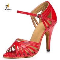 Women S Girl S Professional Standard Sandals Latin Ballroom Salsa Dance Shoes 8 5cm Customizable High