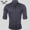 Homens camisa xadrez de algodão casuais marca clothing slim fit negócios vestido Masculino 2017 Novo Estilo Camisa Masculina Plus Size 5XL N507